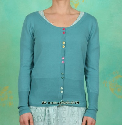Cardigan, BL-0808, old blue