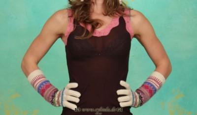 Handschuhe, BL-0915, cream
