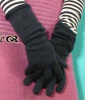 Handschuhe, BL-411, jade