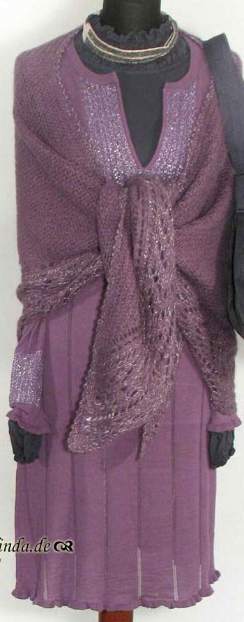 Kleid, Chapel Knit, wine
