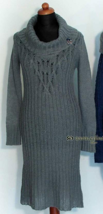 Kleid, Noel Knit, glacia