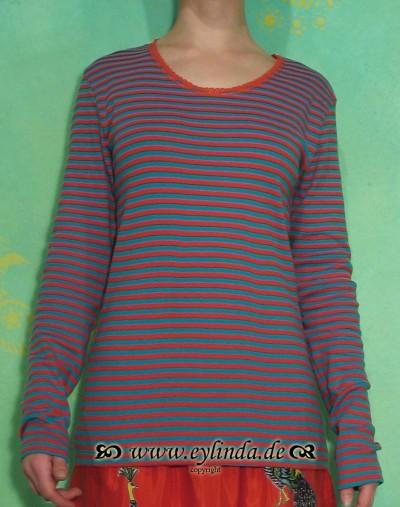 T-Shirt, NAL-0297, volla/ivory