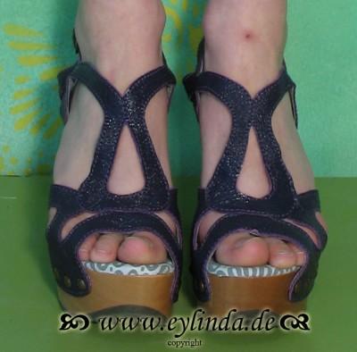 Schuhe, Sin, astrakan/purple