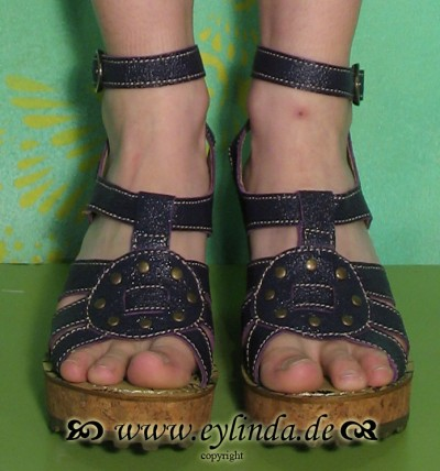 Schuhe, SchuhGris, astrakan/purple