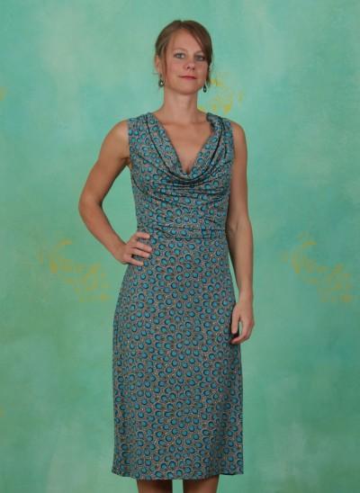 Kleid, River-Pearl-Drape, multi