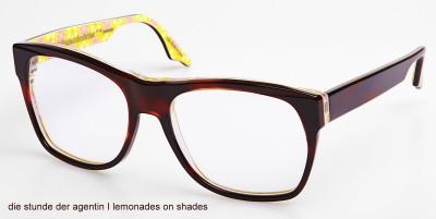 Sonnenbrille, Die Stunde der Agentin, lemonades on shades