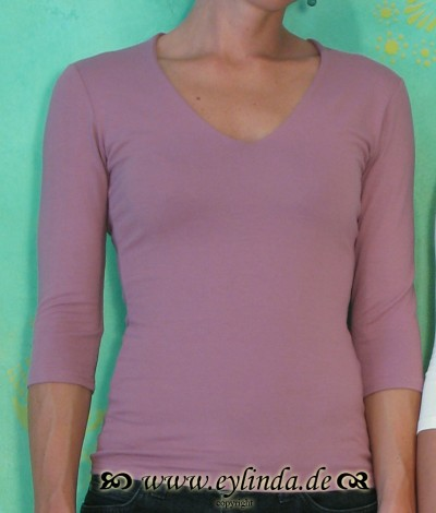 Shirt, Sylvia, Altrosa