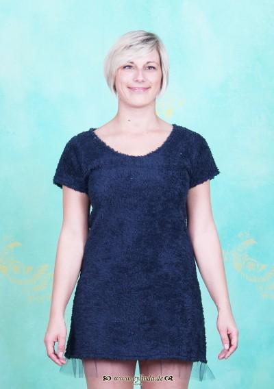 Kleid, Terza, dunkel-blau
