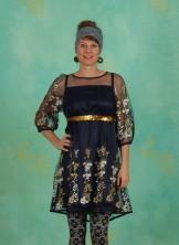 Kleid, Robe De Coralie , ice-floral-tulle