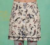 Rock, Pleats Please Skirt, bird-heart