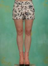 Shorts, Hallali Peep Pants, bird-heart