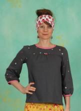 Shirt, In Love With Alm Oehi Longsie, black-meadow