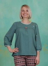Shirt, In Love With Alm Oehi Longsie, green-meadow