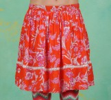 Rock, Summerbreeze Daydream Skirt, tangerine-tropical