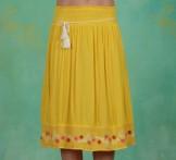 Rock, Lady Doll Skirt, sunflower-crepe