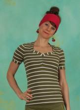 Shirt, Logo Stripe T-Shirt, stripe-of-nature