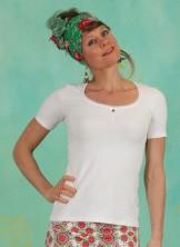 Shirt, Logo Balconette Tee, just-me-in-white