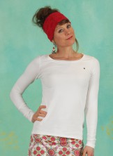 Shirt, Logo U-Boot Langarm Welle, just-me-in-white