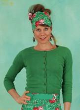 Cardigan, Logo Cardigan Roundneck Short, green-anchor-ahoi