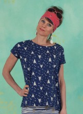 Shirt, The Blousy Tee, sailing-club
