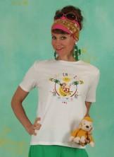 Shirt, Affenhitze Statement, bright-white
