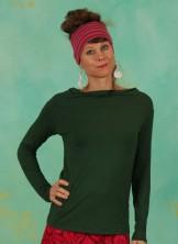 Shirt, Cascadella Pure, detox-green