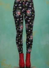 Leggins, Stadtläuferin Legs, vagabund-flowers