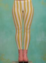 Leggins, Zahnpasta Stripes Longlegs, kiez-stripe