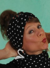 Haarband, Wild Knot Headband, black-betsy