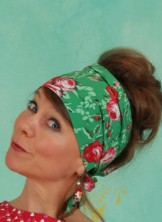 Haarband, Pretty And Chic Hairkerchief, springtime-soul