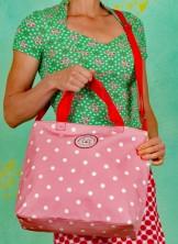 Handtasche, Eternal Love Shopper, rose-dot