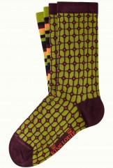 Socken 2er-Pack, 06546-261, green-multi