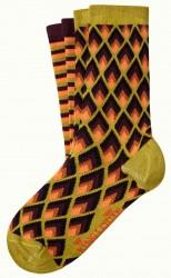 Socken 2er-Pack, 06551-807, green-multi