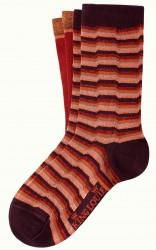 Socken 2er-Pack, 06552-612, red-multi