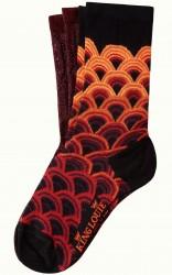 Socken 2er-Pack, 06555-612, red-multi