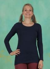 T-Shirt, Basic Cotton Stretch, dress-blues