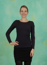 Unterkleid, Basic Cotton Stretch, black