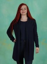 Cardigan, Basic Cotton Melange, dress-blues