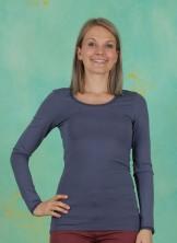 T-Shirt, Basic Lace, vintage-indigo