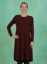 Kleid, Viscose Knit, chocolate