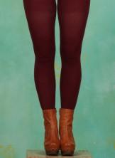Strumpfhose, Lily PH, oxblood-red