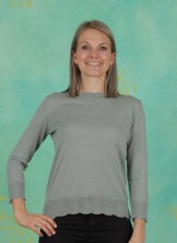 Pullover, Organic Cotton, green-milieu