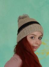 Mütze, Chunky Knit Acc., burlwood