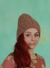 Mütze, Silent Winter Knit Acc., light-brown-melange