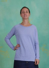Shirt, Basic Heavy Cotton Slub, grapemist