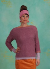 Pullover, Mohair Knit, mesa-rose