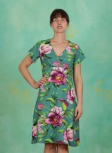 Kleid, V-Neck, welcome-to-the-jungle