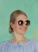 Sonnenbrille, Tasia, rose-dust