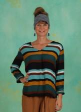 Bluse, ¾ Arm Blouse, porcelain-turquoise