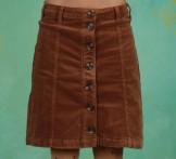 Rock, Corduroy Skirt, soft-camel